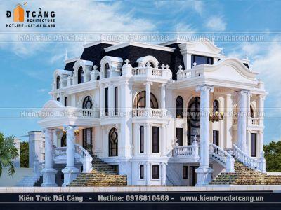 Thiết kế lâu đài tại Hải Dương