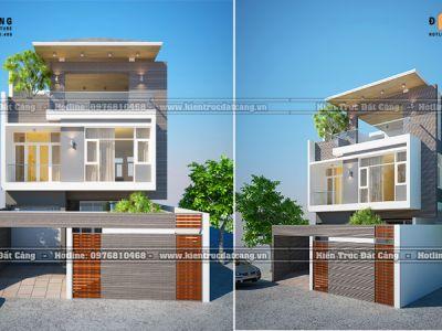 Lựa chọn mẫu nhà phố hiện đại cao cấp 3 tầng tiện nghi