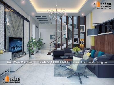 Thiết kế nội thất nhà ống tại Hưng Yên
