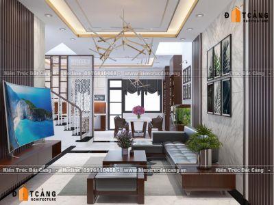 Thiết kế nội thất căn Paris 26-02 - Vinhomes Iperia - Hải Phòng