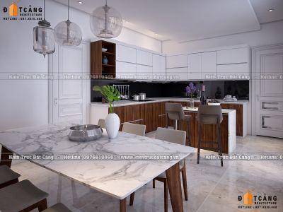 Thiết kế nội thất nhà lô phố 3 tầng hiện đại đẹp và tiện nghi