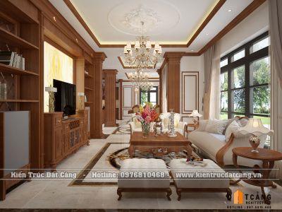 Thiết kế nội thất Pháp biệt thự đơn lập Vinhomes Imperia Hải Phòng