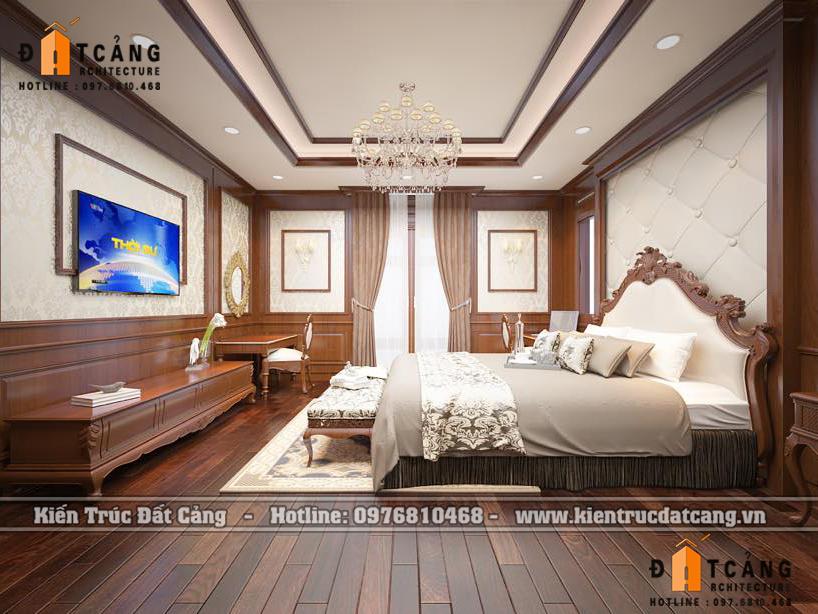 Thiết kế nội thất phòng ngủ Vinhomes imperia.